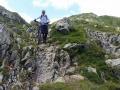 K1024_3 Andere Teilnehmer haben an steilen Felspassagen das Rad lieber geschoben oder getragen.